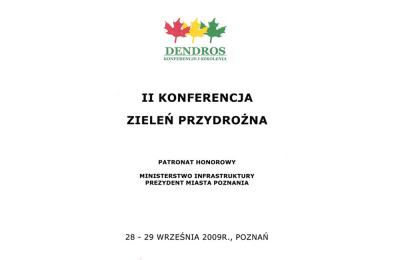 Zieleń Przydrożna, Poznań 2009