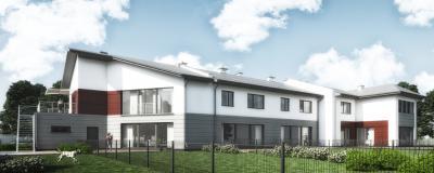 Zespół budynków jednorodzinnych w zabudowie szeregowej w Błoniu
