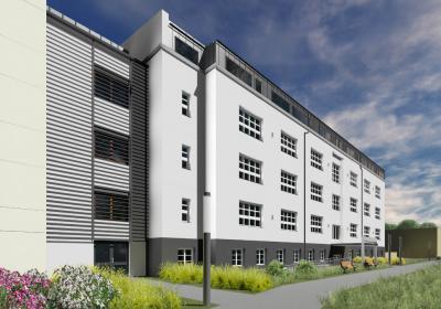 front budynku modernizowanego