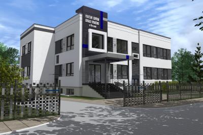 Budynek biurowy Policyjnego Centrum Edukacji Społecznej w Warszawie