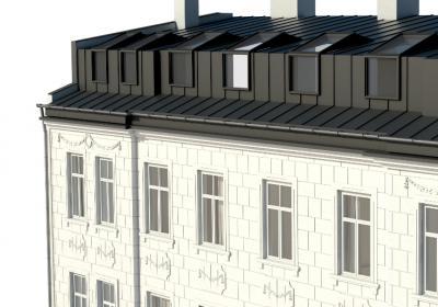 koncepcja nadbudowy dachu