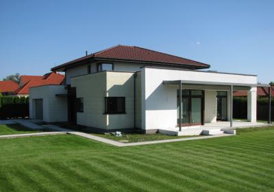 dom jednorodzinny w Warszawie-Wilanów