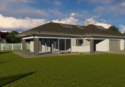dom jednorodzinny w Komorowie