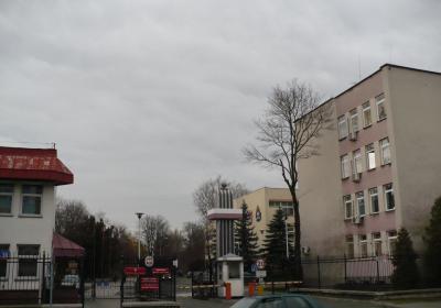 widok od strony wjazdu- stan istniejący