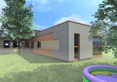 Rozbudowa przedszkola przy Kartezjusza w Warszawie