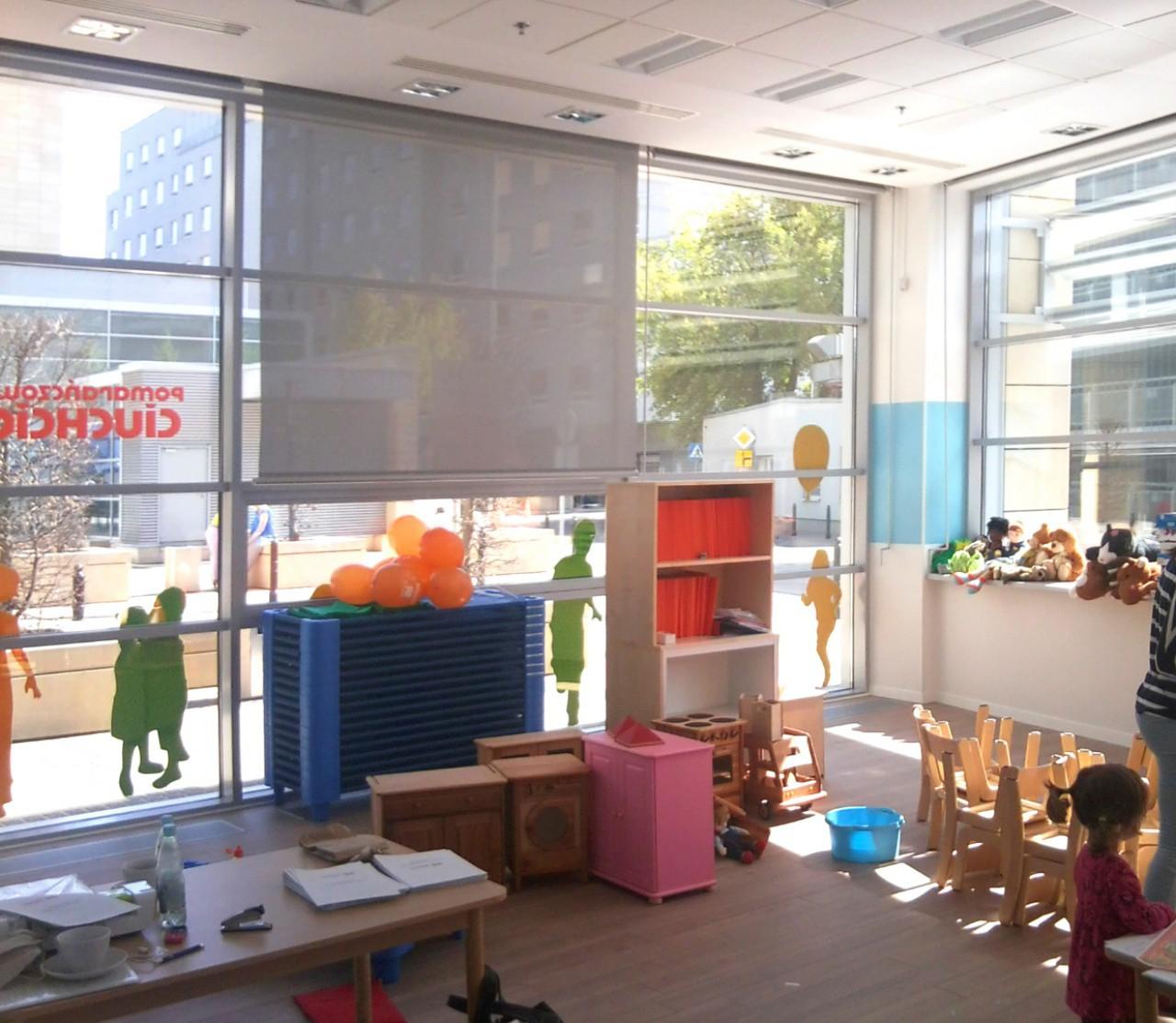 sala przedszkolna - stan zrealizowany
